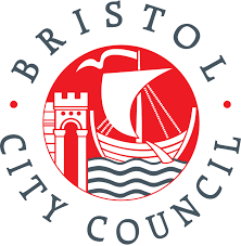 The logo for Bristol City Council, funders of the Control Room commission