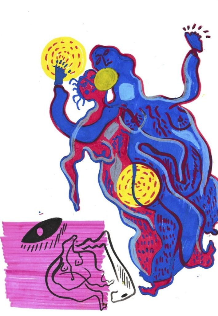 Illustration by Rising Associate artist, Priyanka Meenakshi.